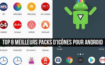 Top 8 meilleurs packs d'icônes pour Android