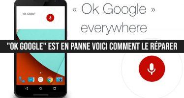 """""""Ok Google"""" est en panne sur de nombreux téléphones: voici comment le réparer"""