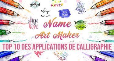 Top 10 des applications de calligraphie pour Android et iOS