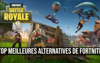 Top meilleures alternatives de Fortnite Battle Royale