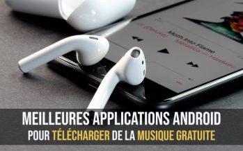Meilleures applications Android pour télécharger de la musique gratuite