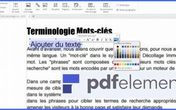Comment modifier facilement des fichiers PDF à l'aide de Wondershare PDFelement?