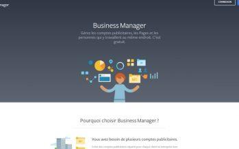 Qu'est-ce que le gestionnaire d'entreprise Facebook et comment créer un compte professionnel?