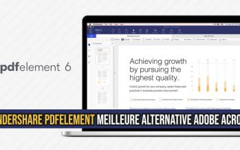 Wondershare PDFelement La meilleure alternative à Adobe Acrobat