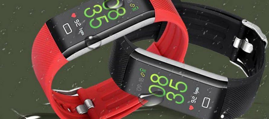 Achetez Le Traqueur de fitness Alfawise B7 Pro avec un moniteur de fréquence cardiaque pour seulement 15.90$