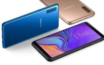 Examen Galaxy A7 (2018): une triple caméra … et quoi d'autre?