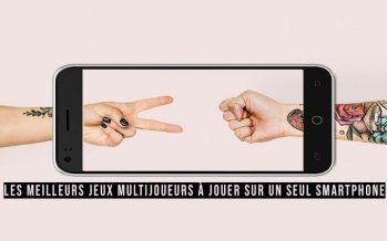 Les meilleurs jeux multijoueurs à jouer sur un seul smartphone