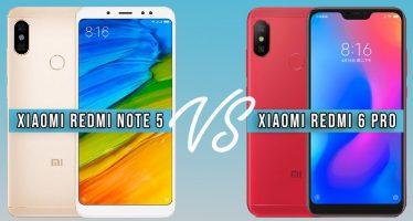 Xiaomi Redmi 6 Pro contre Xiaomi Redmi Note 5: lequel choisir?