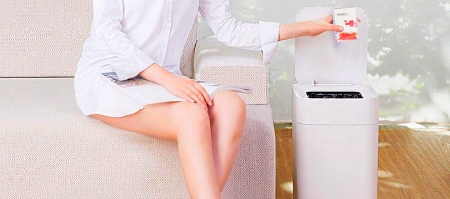 Xiaomi smart poubelle: vous n'avez plus jamais à soulever le couvercle d'une poubelle