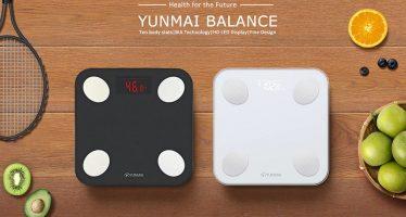 YUNMAI mini-balance intelligente avec technologie BIA et écran LED HD dissimulé Disponible pour 35.99$