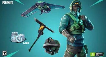 Nvidia lance le 'Bundle GeForce Fortnite' avec des objets spéciaux, V-Bucks