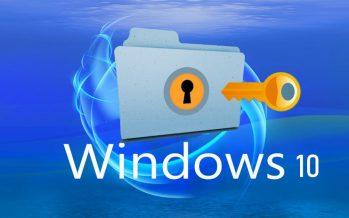 Comment protéger par mot de passe les dossiers dans Windows 10 sans logiciel