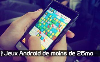 10 meilleurs jeux Android de moins de 25 Mo avec graphismes haut de gamme