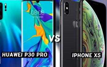 Huawei P30 Pro vs Apple iPhone XS: match de championnat