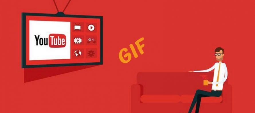 Comment créer des GIF à partir de vidéos YouTube