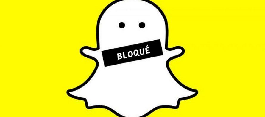Comment savoir si quelqu'un vous a bloqué sur Snapchat
