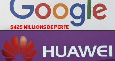 Google perd 425 millions de dollars après l'interdiction des smartphones Huawei