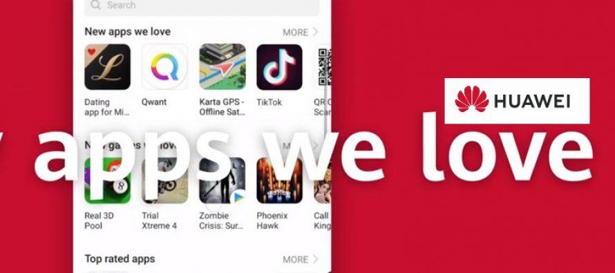 Huawei construit son nouveau Play Store