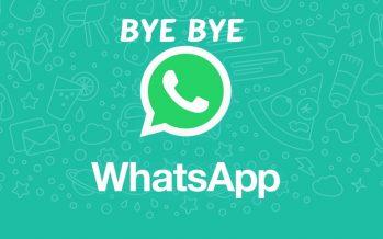 MAUVAISES NOUVELLES! WhatsApp cessera de fonctionner sur ces smartphones