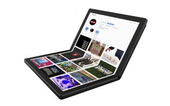 Rencontrez le premier ordinateur portable pliable au monde