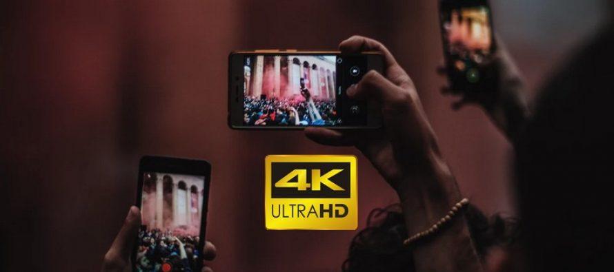 Comment filmer des vidéos en résolution 4K sur l'iPhone