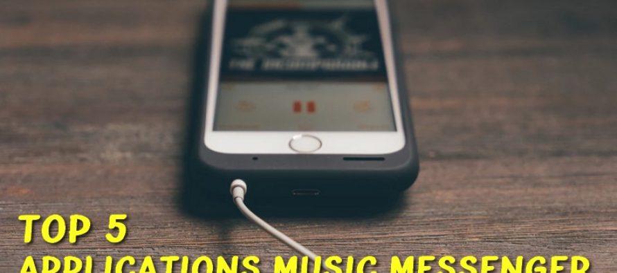 5 meilleures applications Music Messenger pour Android et iOS