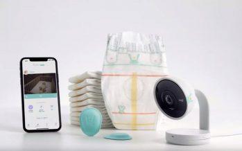 Pampers a maintenant une couche intelligente qui envoie des notifications push lorsque votre bébé est mouillé