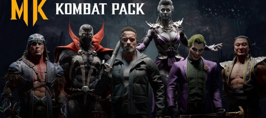 Kombat Pack de Mortal Kombat 11 inclurons Terminator, Spawn, The Joker