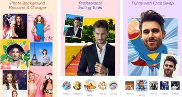 10 meilleures applications de photo couper / coller pour Android et iOS