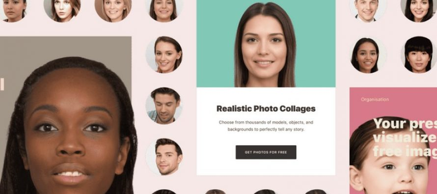 Ce site contient 100 000 images de visages IA libres de droits générées
