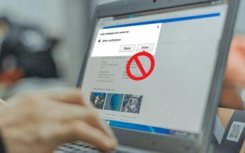 Comment empêcher les sites Web de demander l'accès aux notifications