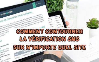 Comment contourner la vérification SMS de téléphone sur n'importe quel site Web / service