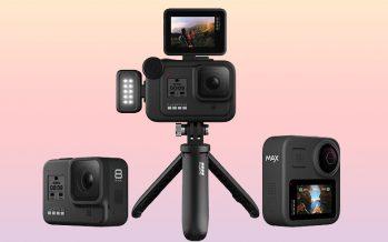 GoPro annonce les HERO 8 Black, Mods et MAX