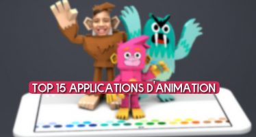 Top 15 applications d'animation pour Android et iOS