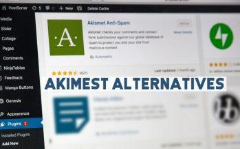 10 alternatives Akismet – Réduisez le spam des commentaires et bloquez les mauvais robots