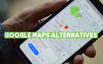 10 meilleures alternatives Google Maps que vous devriez essayer