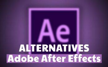 3 alternatives gratuites à Adobe After Effects