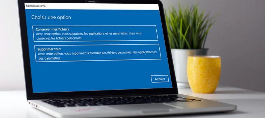 4 façons de réinitialiser votre ordinateur Windows aux paramètres d'usine