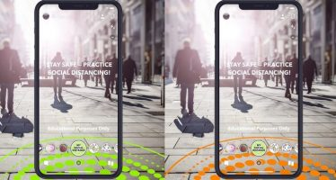 Les nouveaux objectifs de Snapchat encouragent la distance sociale