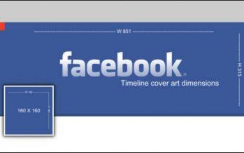 Tailles d'images clés pour Facebook, Twitter, Instagram, etc