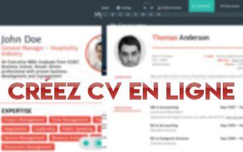 5 meilleurs sites de CV pour créer votre CV en ligne