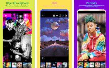 L'application Adobe Photoshop Camera est désormais disponible gratuitement sur PlayStore et App Store